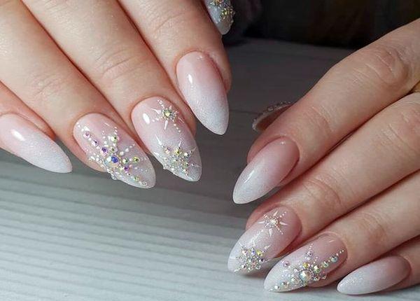 нежные ногти дизайн 3