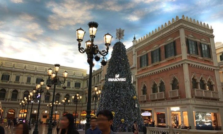 ベネチアン・マカオ クリスマスツリー