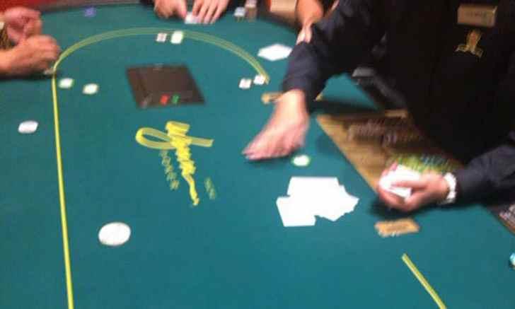 ウィン・マカオ ポーカー テーブル