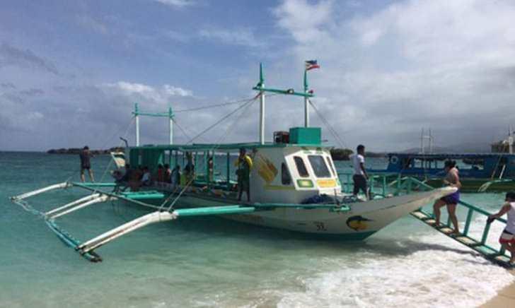 ボラカイ島 バンカーボート