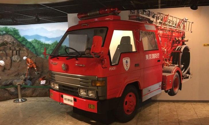 消防博物館 消防車レプリカ