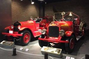 消防博物館 スタッツ消防ポンプ自動車、マキシム消防ポンプ自動車