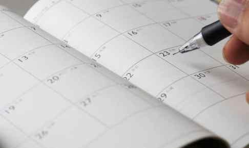 【英語】これだけは知っておくべき時間・暦の名前一覧