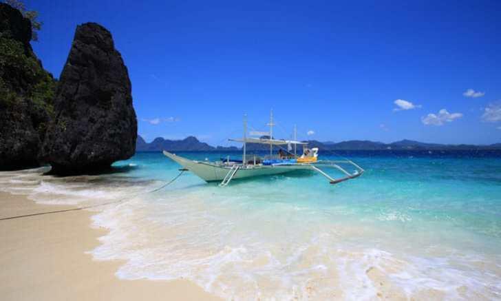 パラワン島 エルニド バンカーボート