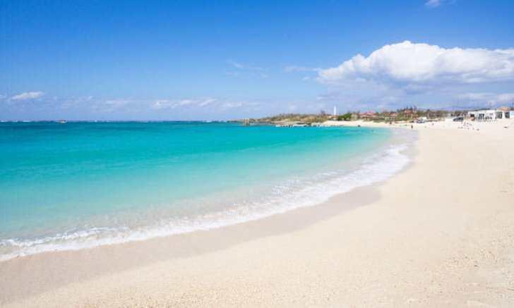 沖縄本島中部 残波ビーチ