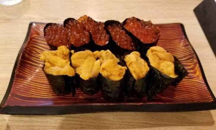 きづなすし 新宿歌舞伎町店 食べ放題 ウニ イクラ