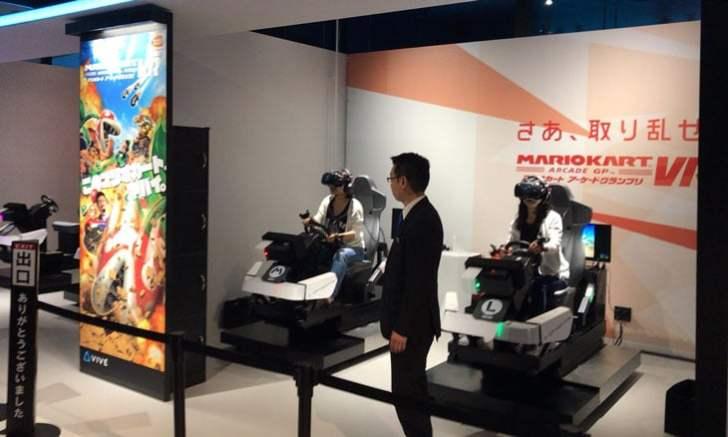 新宿 歌舞伎町 VR ZONE SHINJUKU マリオカート アーケードグランプリVR