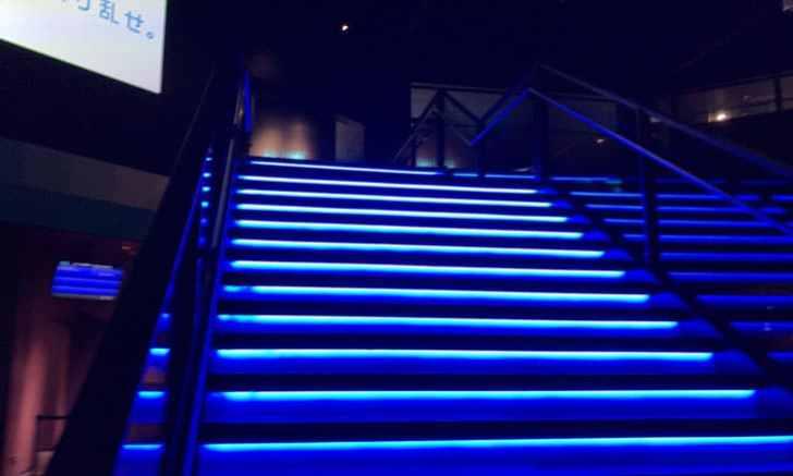 新宿 歌舞伎町 VR ZONE SHINJUKU 階段