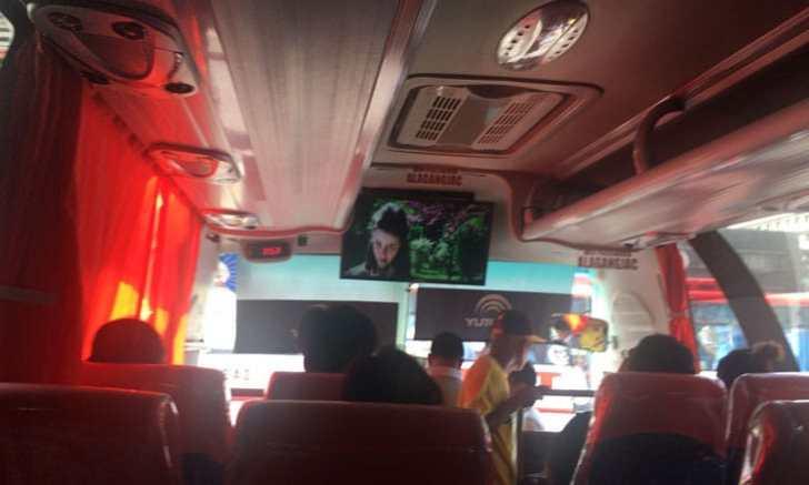 JAC LINNER バス 映画