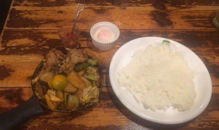 野菜を食べるカレー「camp」代々木本店 一日分の野菜カレー