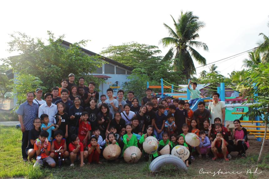 OCIP vietnam playground group photo