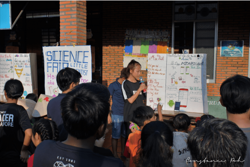 OCIP Vietnam science fair presentations