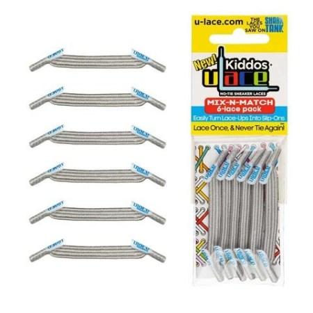 Kiddos Mix-N-Match Pack Metallic Silver