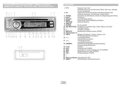 MICROSTAR MD 4925 MP3 Car radio download manual for free