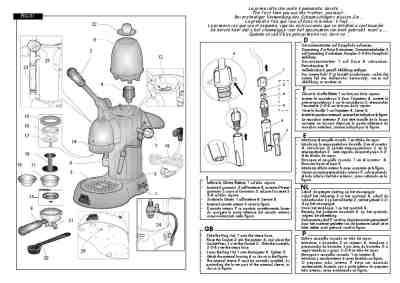 GAGGIA ACHILLE Coffee maker download manual for free now