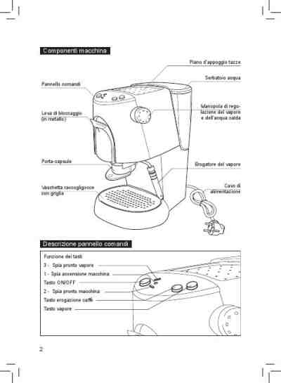 GAGGIA K 111 CAFFITALY Coffee maker download manual for