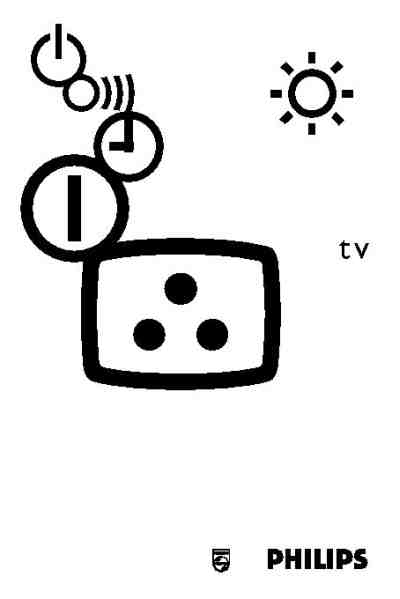PHILIPS 14PT1363 TV/ Television download manual for free