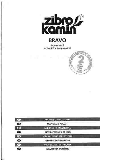 ZIBRO BRAVO Central heating download manual for free now