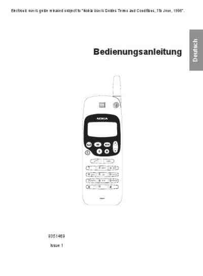 NOKIA 1611 Mobile phone download manual for free now