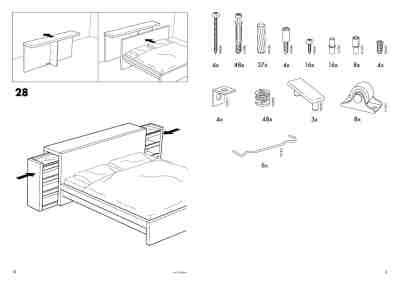 IKEA MALM BED Furniture download manual for free now