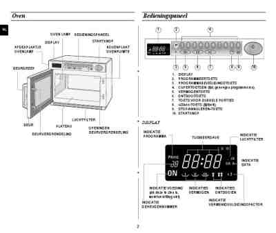 SAMSUNG CM1929 Microwave oven download manual for free now