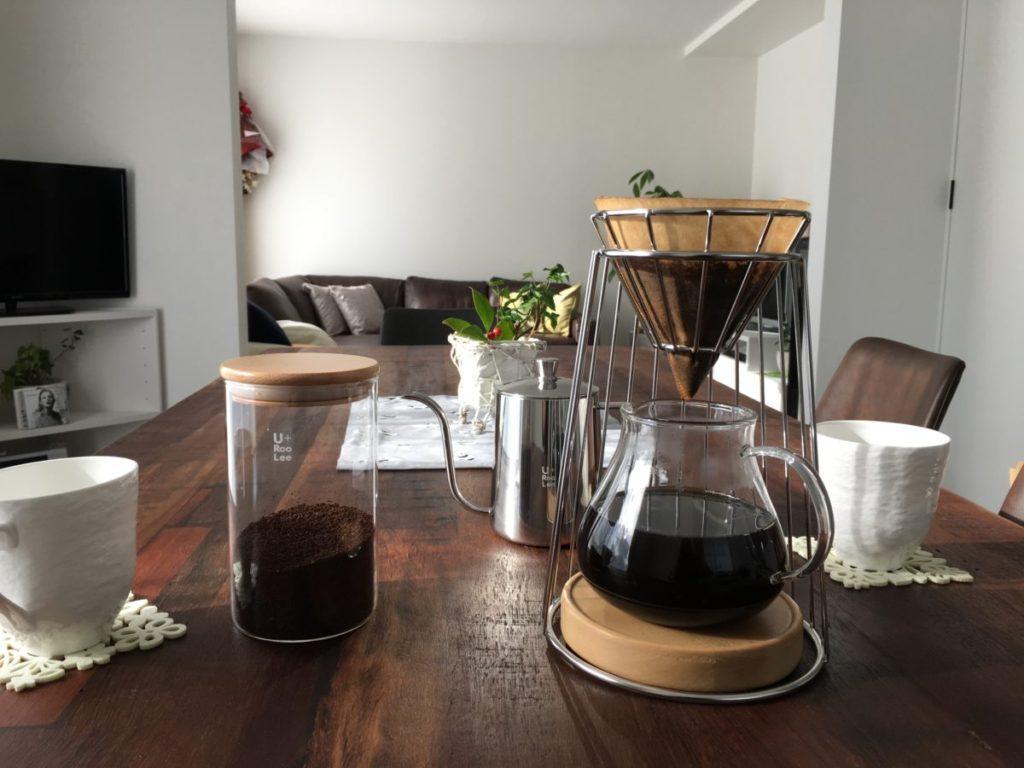 drip stand coffee set