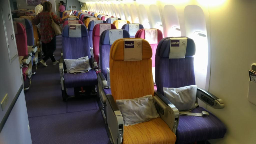 タイ国際航空 B777-300 77R シート