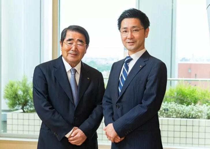 松屋の会長と社長の顔