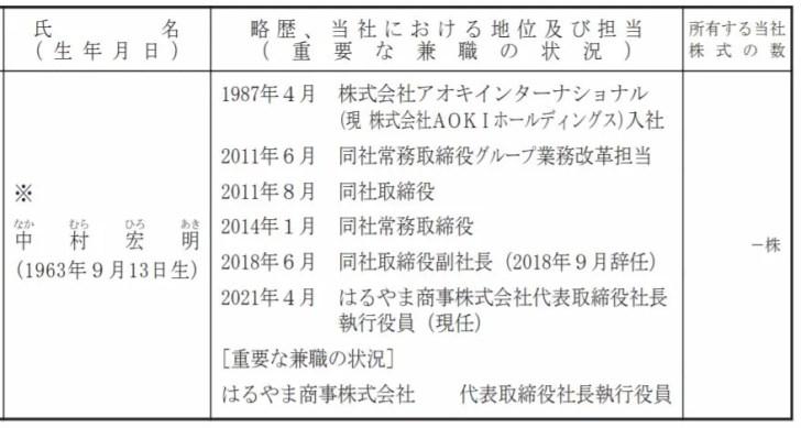 中村社長の経歴