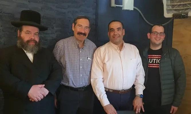 Arutz Sheva administration meets officials in NY