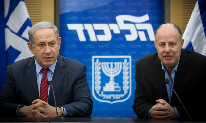Binyamin Netanyahu and Tzachi Hanegbi