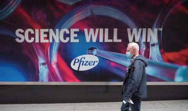 'Science will win': Pfizer