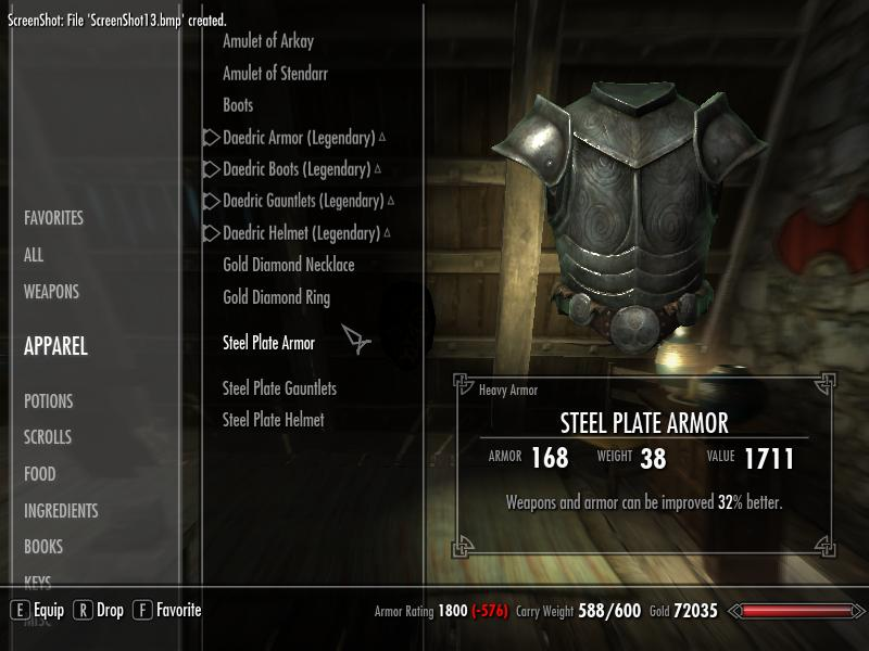 skyrim fortify enchanting recipe | Kayarecipe co
