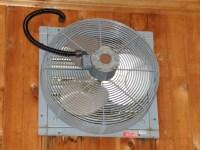 Dayton Industrial Exhaust Fan   Vintage Ceiling Fans.Com ...