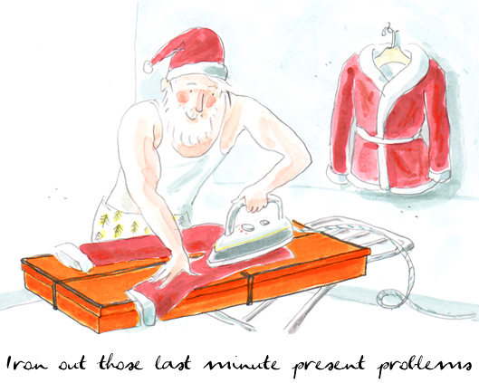 Iron out those last minute present problems