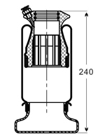 Air Spring for Cab Suspension, YitaoQianchao Pneumatic