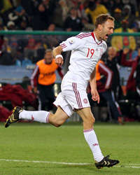 FIFA World Cup 2010 - Cameroon vs Denmark, Dennis Rommedahl  (Getty Images)