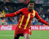 Asamoah Gyan - Ghana (Getty Images)