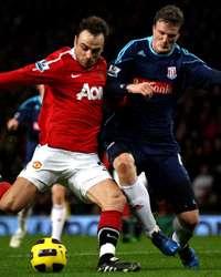 EPPL: Robert Huth - Dimitar Berbatov, Manchester United v Stoke City(Getty Images)