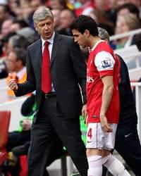 Arsene Wenger & Cesc Fabregas, Arsenal