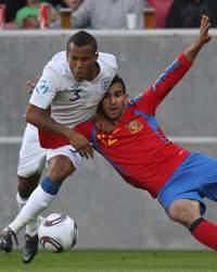 UEFA European U21 Championships : Ryan  Bertrand - Martin Montoya, Spain v England