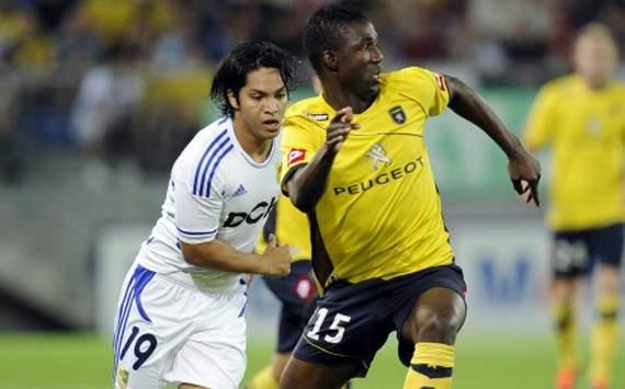 Europa League : Modibo Maiga (FC Sochaux vs Metallsit Kharkiv)