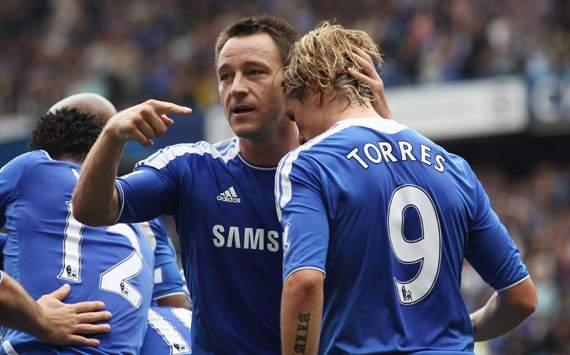 EPL,Fernando Torres,John Terry,Chelsea v Swansea City