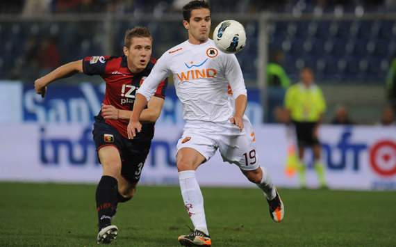Kucka & Gago - Genoa-Roma - Serie A (Getty Images)