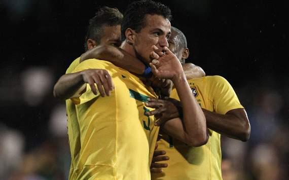 Late own goal saves lacklustre Brazil
