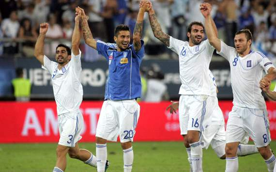 Greece celebrating (Getty Images)