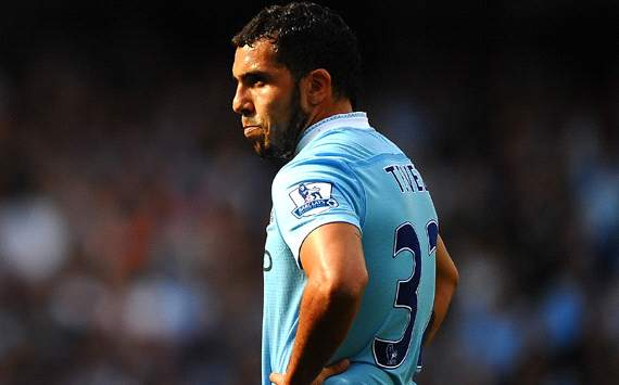 Carlos Tevez - Manchester City (Getty Images)