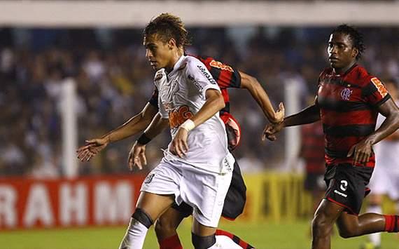 Neymar - Santos (Ivan Storti/Divulgação Santos FC)