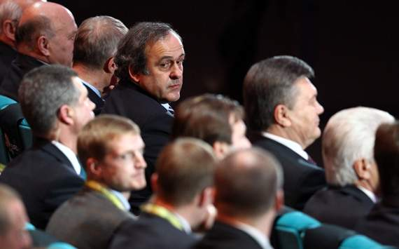 UEFA President, Michel Platini, UEFA EURO 2012 Final Draw