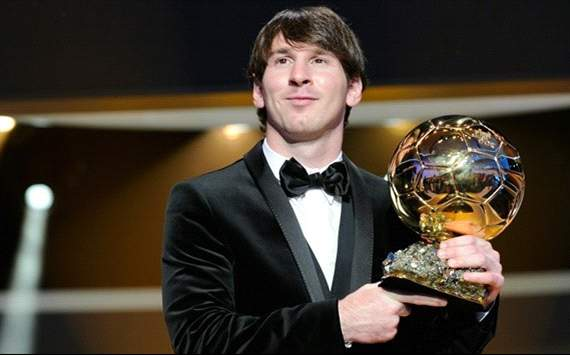 Messi - balon de oro